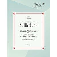 Schneider, Friedrich - Sämtliche Klaviersonaten- Band 2