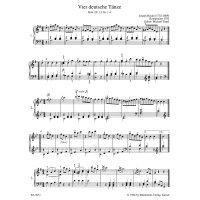 Haydn, Joseph - Leichte Klavierstücke und Tänze