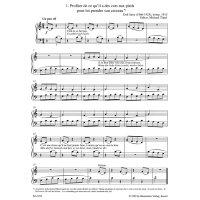 Satie, Erik - Leichte Klavierstücke und Tänze
