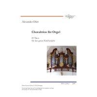 Därr, Alexander - Choraltrios für Orgel