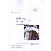 Schlerf, Roland - Partiten und Choralbearbeitungen für Orgel
