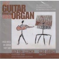 Jazz guitar meets church organ