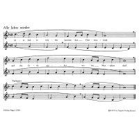 Weihnachtslieder in leichten Sätzen