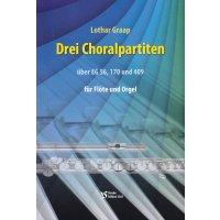 Graap, Lothar - Drei Choralpartiten