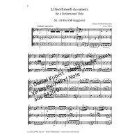 Naumann, Johann Gottlieb - 5 Divertimenti - Partitur