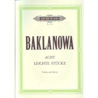 Baklanowa, Natalja - 8 leichte Stücke