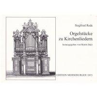 Reda, Siegfried - Orgelstücke zu Kirchenliedern