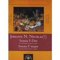 Nicolai, Johann N.- Sonata F-Dur