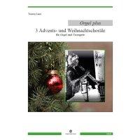 Laux, Torsten - Drei Advents- und Weihnachtschoräle