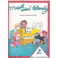 Noona, Carol/Walter - Rico lernt Klavier - Band 2