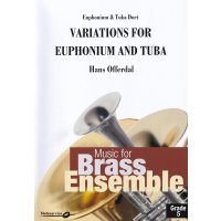 Offerdal, Hans - Variations for Euphonium and Tuba