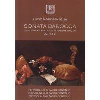 Benaglia, Lucio Mosè - Sonata Barocca op. 19a