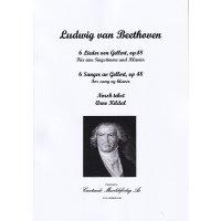 Beethoven, Ludwig van - 6 Lieder von Gellert, op. 48