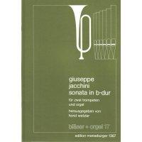 Jacchini, Giuseppe - Sonata in B-Dur