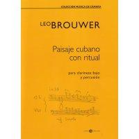 Brouwer, Leo - Paisaje cubano con ritual