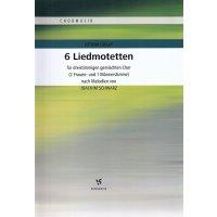Graap, Lothar - 6 Liedmotetten