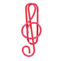 6er-Set Büroklammern »Violinschlüssel«