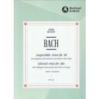 Bach, J.S. - Ausgewählte Arien für Alt - Heft 2