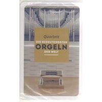 """Quartett """"Die bedeutendsten Orgeln der Welt"""""""