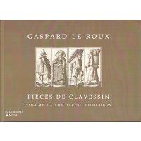 Le Roux, Gaspard - Pieces de Clavessin Vol. 2