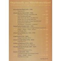 Orgelmusik aus Mitteldeutschland