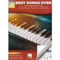 Best Songs Ever - Super Easy Piano