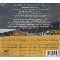 J.S. Bach - Trios pour clavier et violon