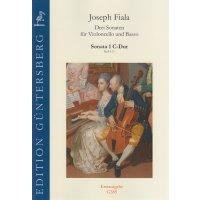 Fiala, Joseph - Sonata 1 C-Dur