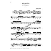 Meinhold, Wieland - 3 Episoden für Violine solo