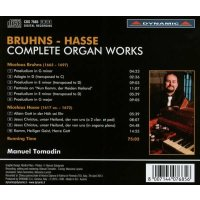 "Bruhns - Hasse ""Complete Organ Works"""