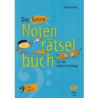 """Das kleine Notenrätselbuch """"Bassschlüssel"""""""