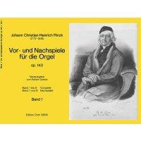 Rinck, J.C.H. - Vor- und Nachspiele für die Orgel - Band 1