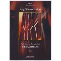 Holter, Stig Wernø - Variations on the antiphon UBI CARITAS