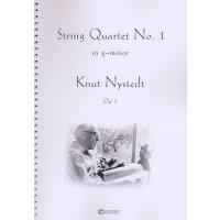 Nystedt, Knut - String Quartet No. 1 in g-minor