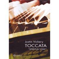 """Vickery, Justin - Toccata """"Spiritus vitae"""" für Orgel solo"""