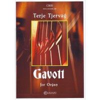 Tjervåg, Terje - Gavott for Orgel