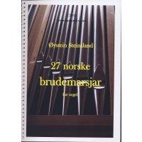 Steinsland, Oystein - 27 norske brudemarsjar