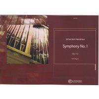 Haarklou, Johannes - Symphony No. 1 op. 53 for Organ