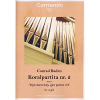Baden, Conrad - Koralpartita nr.2 for orgel over...