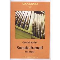 Baden, Conrad - Sonate h-moll