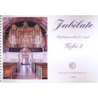 Jubilate - Bryllupsmusikk for orgel - Heft 2