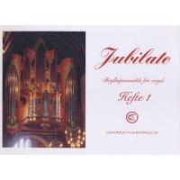 Jubilate - Bryllupsmusikk for orgel - Heft 1