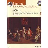 Baroque Keyboard Anthology Vol. 1