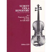 Hand, Colin - Progressive Pieces for Viola