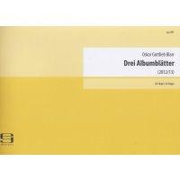 Blarr, Oskar Gottlieb - Drei Albumblätter