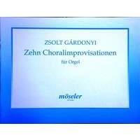 Gárdonyi, Zsolt - 10 Choralimprovisationen