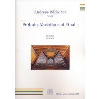 Willscher, Andreas - Prèlude,Variations et Finale