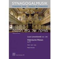 Lewandowski, Louis - Hebräische Weisen op. 45