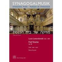 Lewandowski, Louis - Fünf Stücke op. 46
