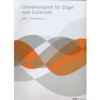 Choralvorspiele für Orgel zum Gotteslob - Band 4 - Im Jahreskreis 2
